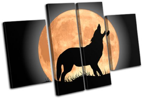 Wolf Moon Wild Animals - 13-0903(00B)-MP17-LO